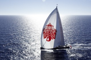 1-Ganesha superyacht under sail