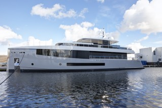 1-Hull 692 by Feadship at launch
