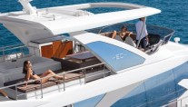 1-Luxury yacht Azimut 80 - external view