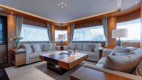 1-Luxury yacht Belle de Jour - Saloon