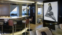 1-Luxury yacht Galactica Star - Bar