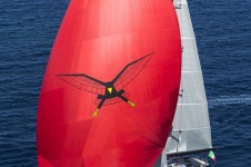 1-Luxury yacht Seahawk under sail