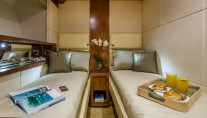 1-Majesty 70 Yacht - Twin Guest Stateroom