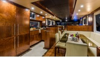 1-Motor yacht Majesty 70 - Galley and Dining