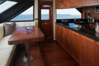 1-OA 85 Yacht - Galley area