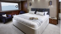 1-Princess 88 Yacht - Owners Stateroom
