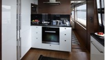 1-Princess 88 superyacht - Galley