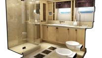 1-Project Galatea Yacht - Guest bathroom