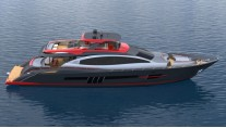 1-Rendering of superyacht LSX95 by Lazzara Yachts