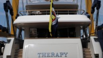 1-Sanlorenzo Yacht Therapy on the water - aft view