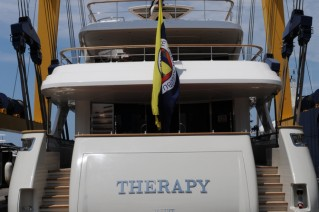 1-Sanlorenzo Yacht Therapy on the water - aft view.JPG