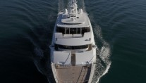 1-Superyacht Grace E from above