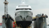 1-Superyacht Ileria ready to hit the water