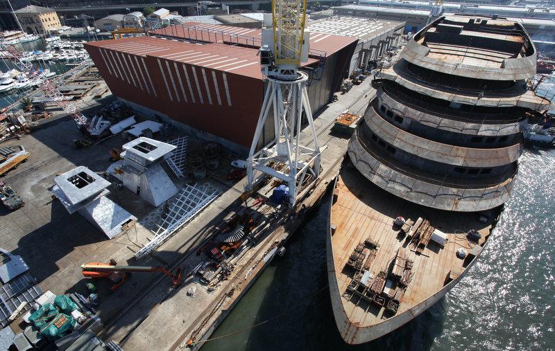 Yacht Saffron A T Mariotti Superyacht Charterworld