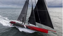 100-foot racing yacht COMANCHE under sail - Photo by Onne van der Wal
