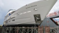 105ft superyacht Queen Grace back at Horizon