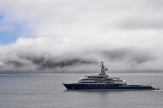 115m luxury expedition yacht LUNA - Photo credit to Michael R McGee