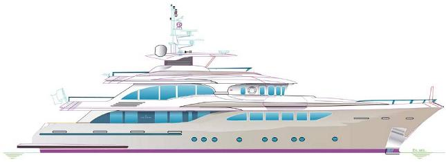 120' Motor Yacht by Jade Yachts