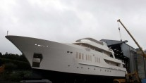 135ft JFA yacht under construction