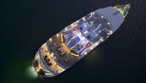 19 Superyacht SALUZI bird view