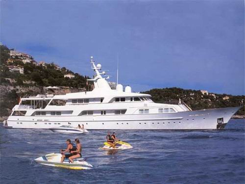 Luxury motor yacht 'Illusion'