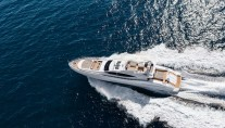 20 Motor Yacht Mangusta 132 from above