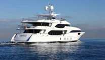 2011 Aft view of the superyacht Lady Gayle Marie - Image courtesy of Burger Boat Company