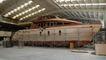 24m Jutson Exploration HeliCat Yacht under construction