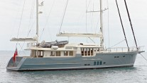 27,5m sailing yacht Hortense refitted by JFA Yachts