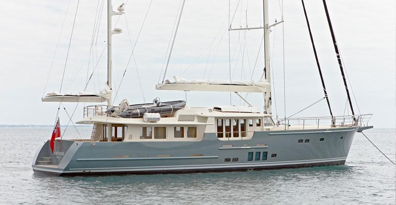 Yacht Motor Sailor Hortense A Jfa Superyacht