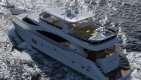 27m luxury yacht Mineral Water by Horizon Yachts