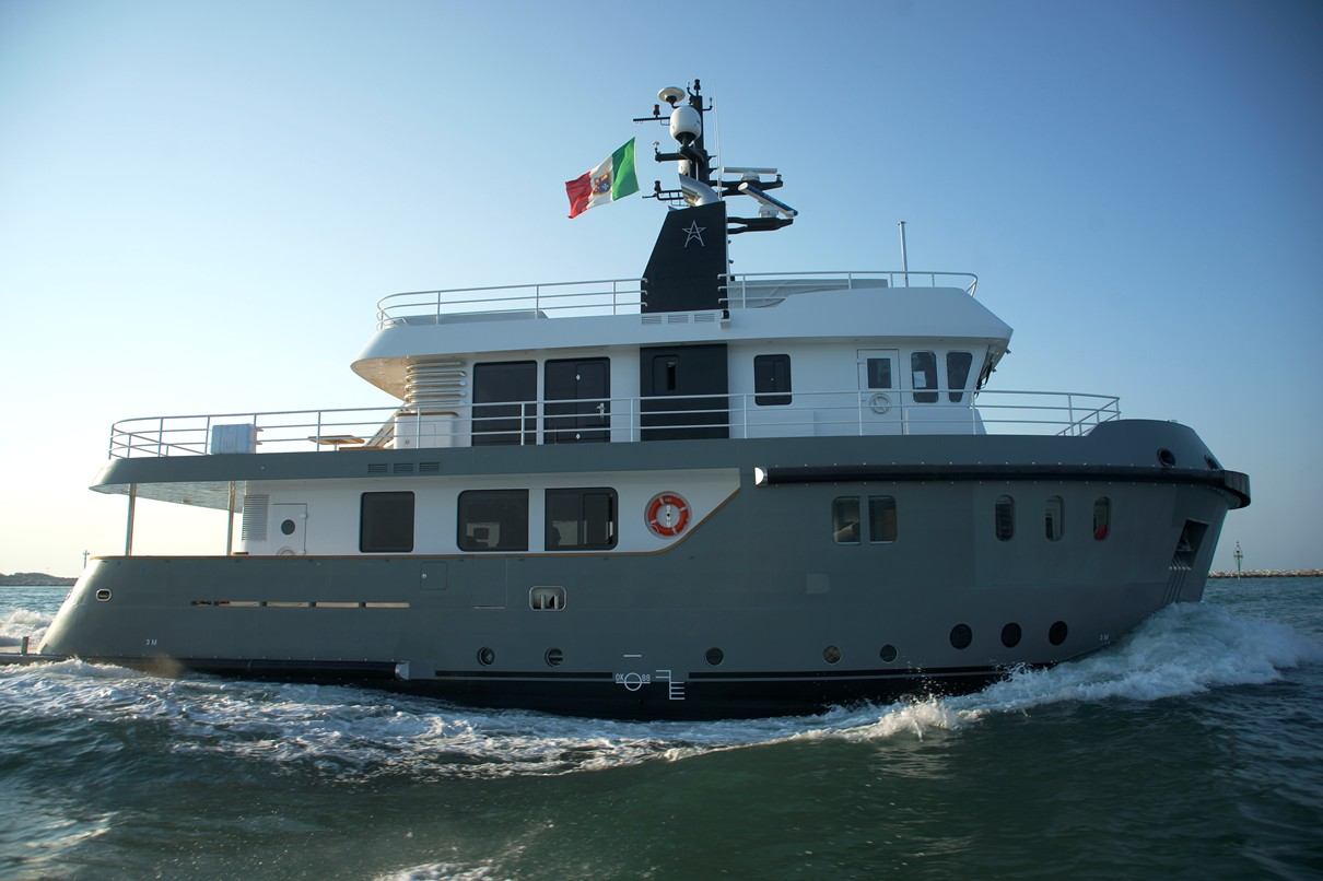Steel Expedition Yachts : Mboat chapter steel bird yacht charter