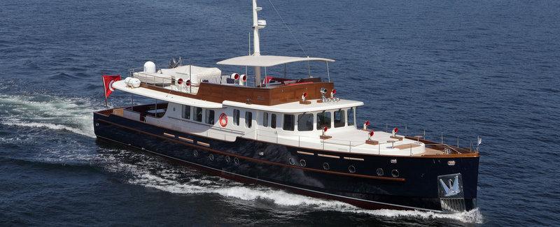 Yacht Motor Sailer Darwin A Su Marine Superyacht