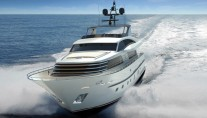 30m superyacht Continental III - front view