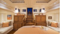 32 Royal Huisman Pumula Yacht - Owners cabin - Photo by Cory Silken