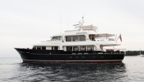 33m superyacht Heliad II designed by Diana Yacht Design
