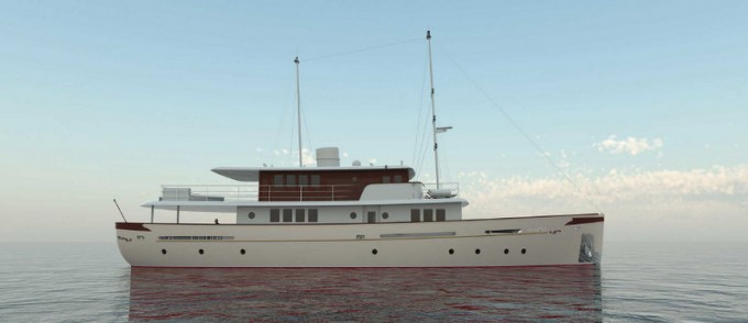 Motor Yacht Project OLDESALT (hull 44)
