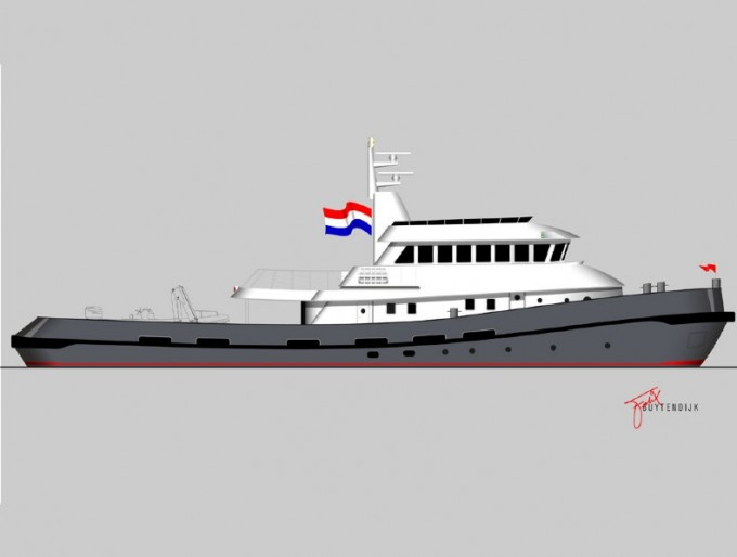 36.4m-super-yacht-LARS-by-Balk-Shipyard-and-Felix-Buytendijk-Yacht-Design