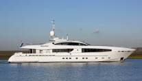 40m Heesen superyacht Galatea - Photo credit to Dick Holthuis