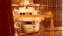 42m Amels superyacht Tranquility (ex Jamaica Bay) under construction