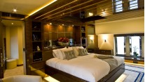 46 m Royal Craft luxury yacht 60 Years - Master Cabin