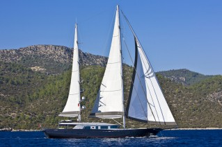 46 m Royal Craft motorsailer yacht 60 Years under sail