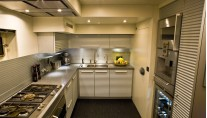 46 m superyacht 60 Years - Galley
