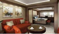 460Exp-115 Yacht VIP stateroom