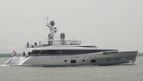 46m Feadship yacht COMO during sea trials - Photo by Kees Torn