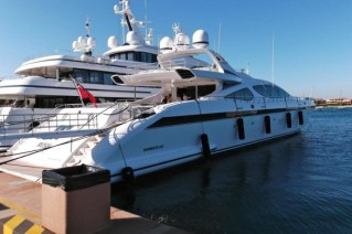 49.90m super yacht Rush - rear view.JPG
