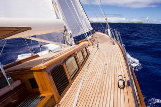 5 Royal Huisman Sailing Yacht Pumula - Photo by Cory Silken