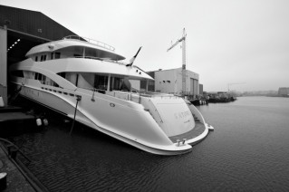50 m Motor Yacht Satori Launched by Heesen - Photo credit- Dick Holthuis