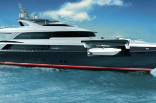 50m Jongert 500 LE super yacht by Azure Naval Architects and Guido de Groot