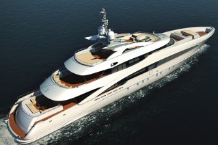 50m luxury yacht Ice Angel by Heesen Yachts